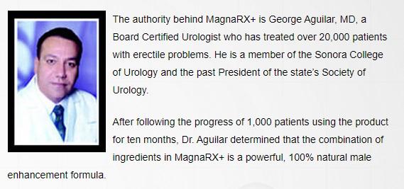 George Aguilar, MD approvement